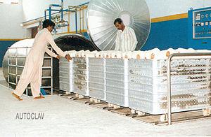 Heatsetting - Autoclave Heatsetting