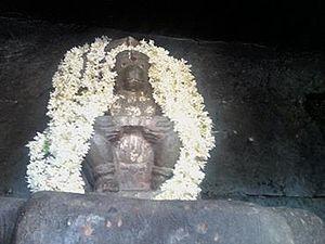 Nava Brindavana - Powerful Avathaarathraya Hanuman at Navabrindhavan