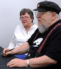 Avilés. Lisa Tuttle and George R. R. Martin (2).JPG
