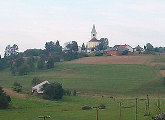 Church of St. Stephen Harding in Apátistvánfalva - Church of St. Stephen Harding in Apátistvánfalva