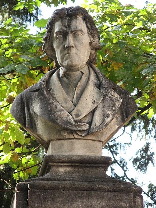 Büste Josef Dobrovsky