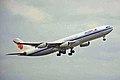 B-2386 A340-313X Air China SYD 28SEP99 (5919339905).jpg