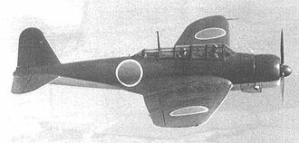 Nakajima Aircraft Company - Nakajima B5N Carrier attack bomber