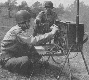 SCR-284 - BC-654 in operation