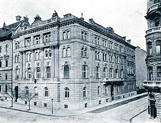 Economy of Hungary - Chamber of Commerce and Industry of Budapest, beginning of the 20th century