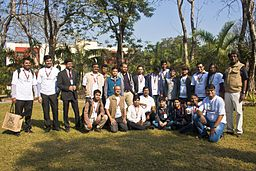 BNWIKI10-Bengali Wikipedians Group Photo-Wikipedia 10th Anniversary Celebration