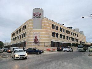 Bank of Valletta - BOV headquarters in Santa Venera