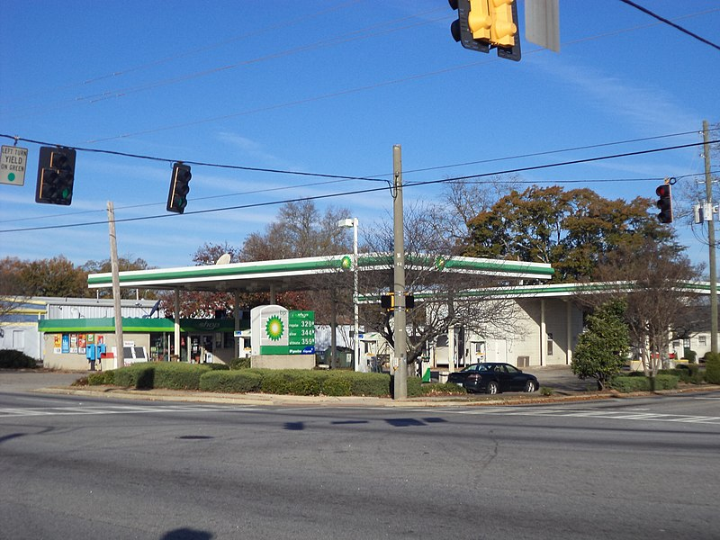 Bp Gas Station Natural Bridge