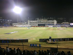 Brabourne Stadium - Twenty20 Match between Mumbai Indians and Kings XI Punjab during IPL 2010 being played at Brabourne Stadium