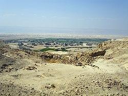 Ворота Баб-эд-Дра с видом на южную оконечность мертвого моря 2014.jpg