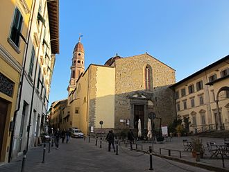 Life Is Beautiful - The film was shot in Arezzo, Tuscany, including by the Badia delle Sante Flora e Lucilla.