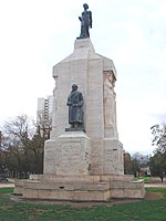 Bernardino Rivadavia monument in Bahía Blanca City, Image: http://upload.wikimedia.org/wikipedia/commons/thumb/1/1a/Flag_of_Argentina.svg/22px-Flag_of_Argentina.svg.pngArgentina.