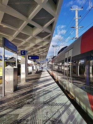 Bahnhof Seefeld in Tirol