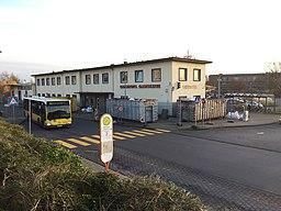 Bahnhofsgebäude front