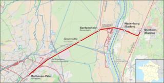 Müllheim–Mulhouse railway railway line