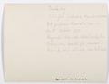 Baksida av kort, sänt från Schweiz landsmuseum till Roosval - Hallwylska museet - 102250.tif