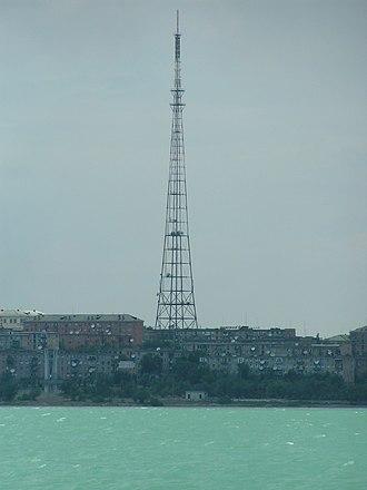 Balkhash (city) - Southern view of the city Balkhash.