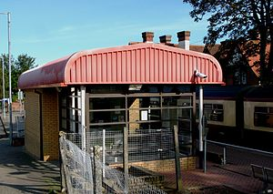 Balloch railway station - Image: Balloch station 2011