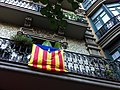 Balmes. Barcelona. Catalonian Flags. - panoramio.jpg