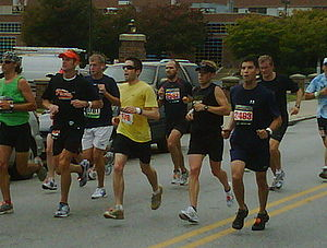 2009 Baltimore Marathon runners