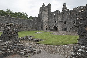 Balvenie Castle - Interior view