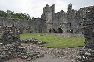 Balvenie Castle - Interior view