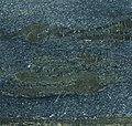 Banded massive sulfide (silver-lead-zinc ore) (Sullivan Deposit, Aldridge Formation, Mesoproterozoic, 1470 Ma; Sullivan Mine, se British Columbia, Canada) 4 (14851820647).jpg