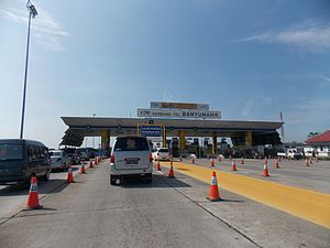 Semarang–Solo Toll Road - Banyumanik Toll Plaza