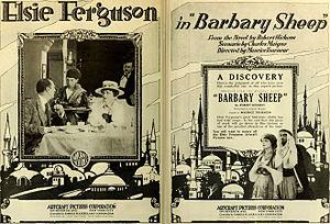 Barbary Sheep (film) - Advertisement