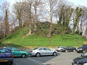 Barnstaple Castle Mound.jpg