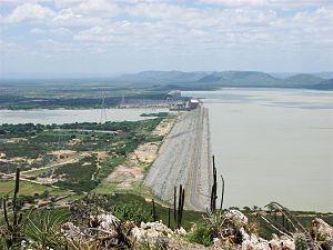 Sobradinho Dam - Image: Barragem de Sobradinho BA