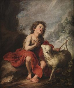 Bartolomé Esteban Perez Murillo - St John the Baptist as a Boy - WGA16373