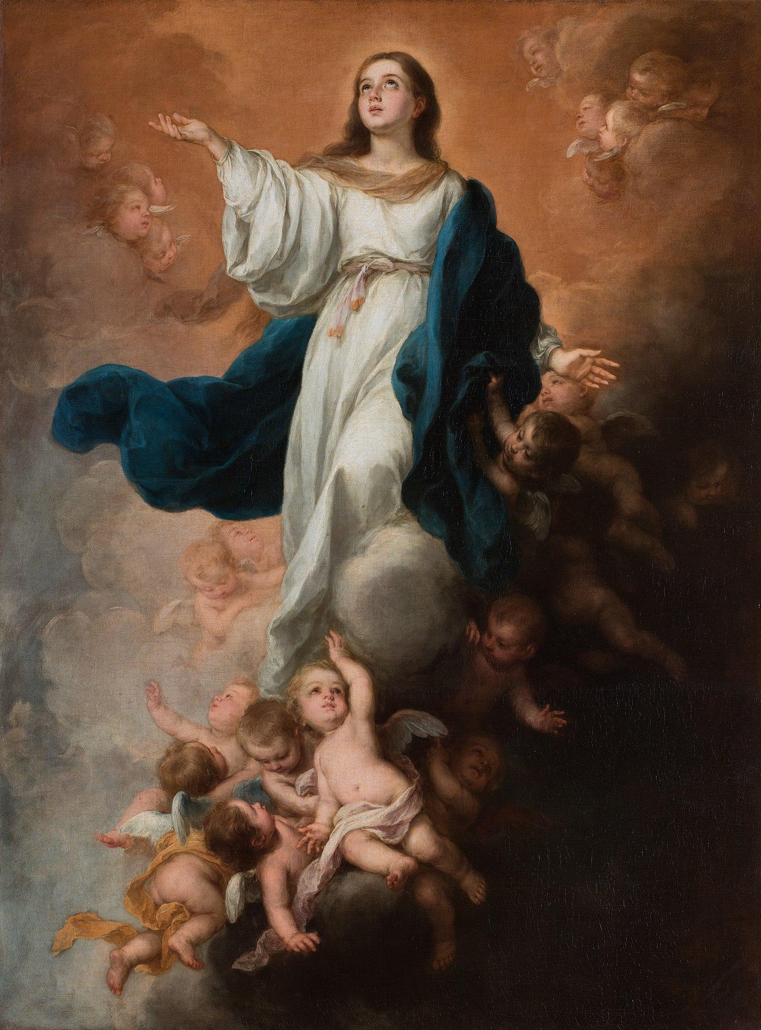 File:Bartolome Murillo - Assumption of the Virgin.jpg - Wikimedia Commons