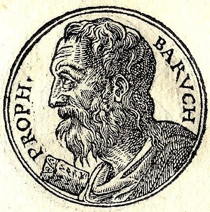 Baruch ben Neria d'après le Promptuarii Iconum Insigniorum (1553)
