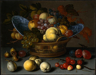 Balthasar van der Ast - Image: Basket fruits 1622