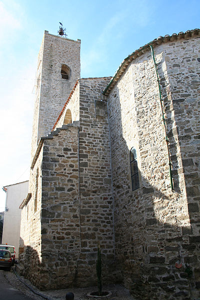 Bassan (Hérault) - église Saint-Pierre aux Liens.