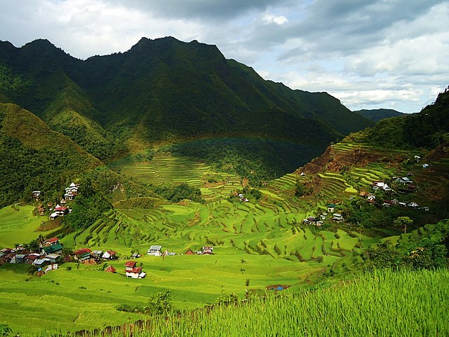 8th place (tie): Batad Rice Terraces, by Captaincid