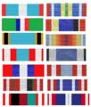 Batons van verschillende Dancon Medaille medailles.png