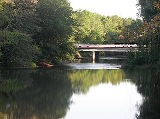 Battle Creek River - Overlooking the Battle Creek River