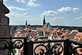 Bautzen - Blick vom schiefen Reichenturm auf Dom und Rathaus.jpg