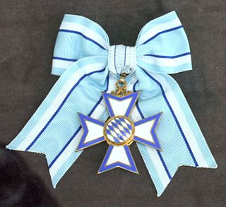 Bavarian Order of Merit Order of Merit of the Free State of Bavaria