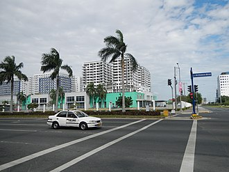 Jose Diokno Boulevard - Jose Diokno Boulevard, at the intersection of Coral Way