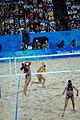 Beach volley at the Beijing Olympics - Brazil v. Australia (3).jpg