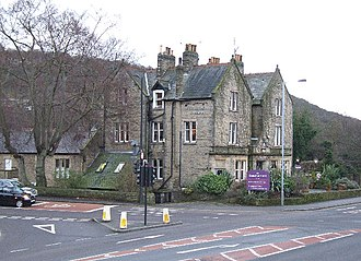 Beauchief railway station - The Beauchief Hotel, formerly the Abbeydale Station Hotel