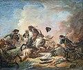 Beaux-Arts de Carcassonne - Choc de cavalerie 1781 - Jacques Gamelin Joconde04400000230.jpg
