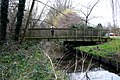 Beddington, Footbridge over the River Wandle - geograph.org.uk - 1766615.jpg