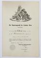 Befordran av Walther von Hallwyl till sekundärlöjtnant, 1861 - Hallwylska museet - 102520.tif