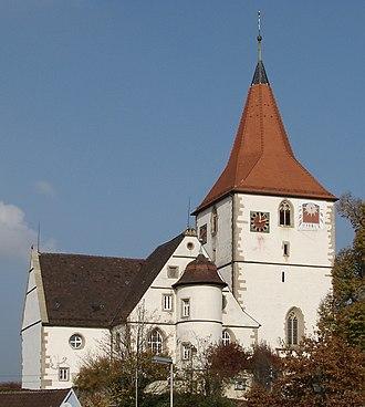 Freiberg am Neckar - Amandus church at Freiberg-Beihingen