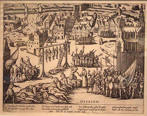 Beleg van Haarlem - Executies door de Spanjaarden