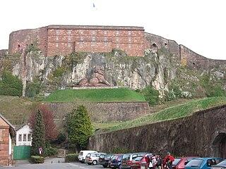 Fortified region of Belfort